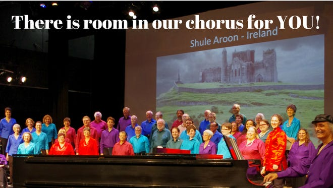 There is no audition required to join the Chorale, however there will be an opportunity for individuals and small groups to audition with a 70's song to be featured during the concert, which will be at 7:30 pm on June 22, in TCC's Turner Auditorium.