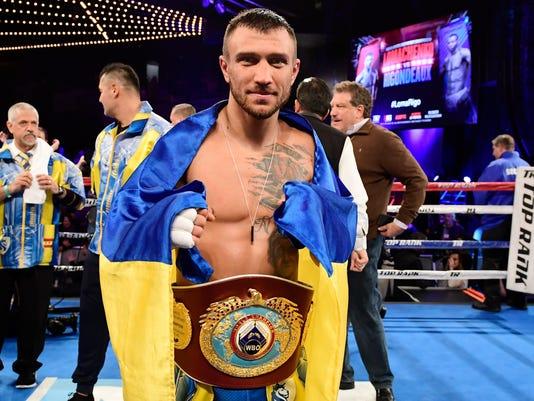 Vasyl Lomachenko v Guillermo Rigondeaux