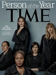 """""""Silence Breaker"""": Tarana Burke appeared as one of Time's people of the year in 2017. """"The Silence Breakers"""" represented a broad range of people, mostly women, from the year's first public accusers of disgraced Hollywood mogul Harvey Weinstein to those who shared their stories of abuse using the hashtag #MeToo."""