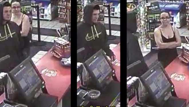 Port Huron police are looking for help to ID two subjects in surveillance footage as part of an investigation into the use of stolen credit cards.