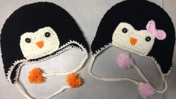 Look What I Just Made Penguin Crochet Hat