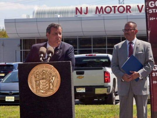 Christie Announces Changes To Motor Vehicle Commission