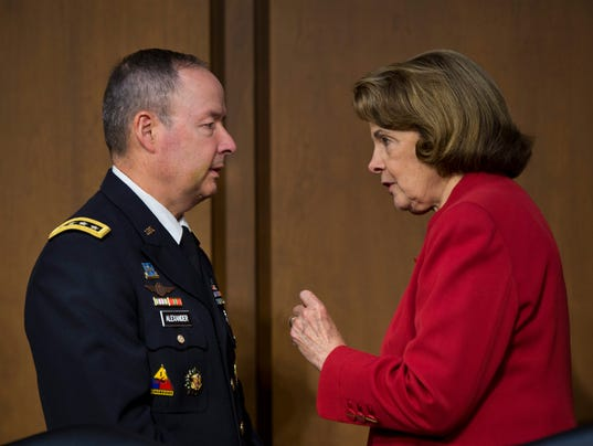 Alexander with Feinstein