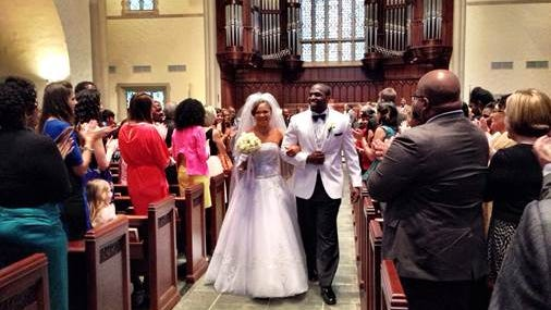 Cardinals linebacker Sam Acho married Ngozi Ebichi on March 15. The couple met 10 years ago in Nigeria.