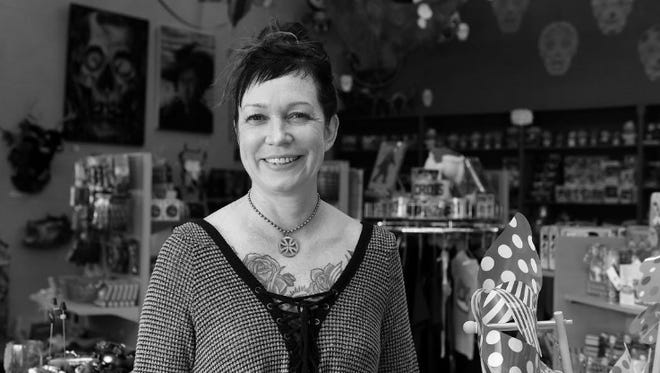 Heather Lee Jones is the owner of Happy Happy Joy Joy. She's closing the Midtown toy store after the loss of her husband in a motorcycle crash.