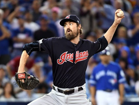 Cleveland's Andrew Miller looks a bit like Kevin Love
