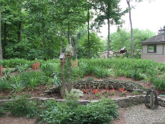 Welcome spring with a garden tour for 146 garden pond drive lexington sc