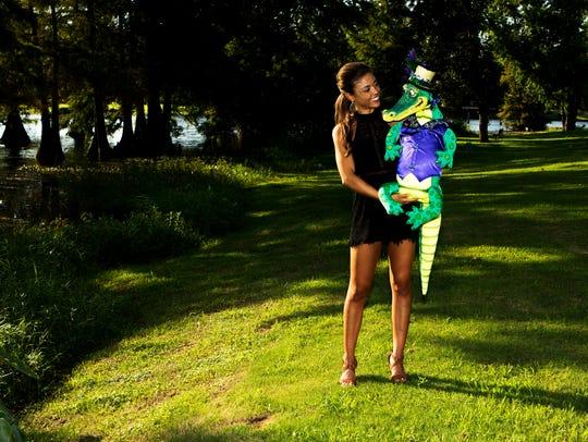 Miss Louisiana 2017 Laryssa Bonacquisti poses for a