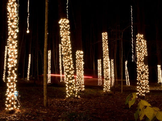 Vehicles will be able to drive through Candy Cane Lane