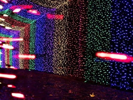 Candy Cane Lane Drive-Thru Christmas Light Park is