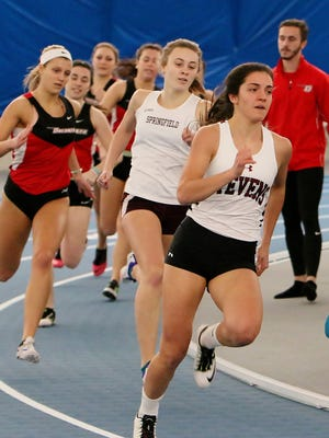 Stevens freshman Gina Dello Russo, a Whippany Park alumna, was named Empire 8 Athlete of the Meet.