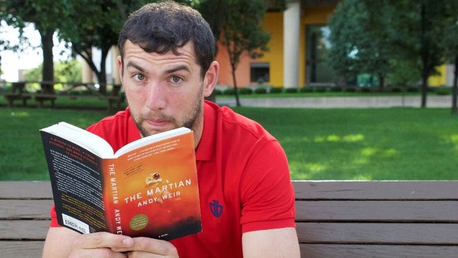 Colts quarterback Andrew Luck has partnered with WFYI to  host his book club discussions during a monthly podcast.