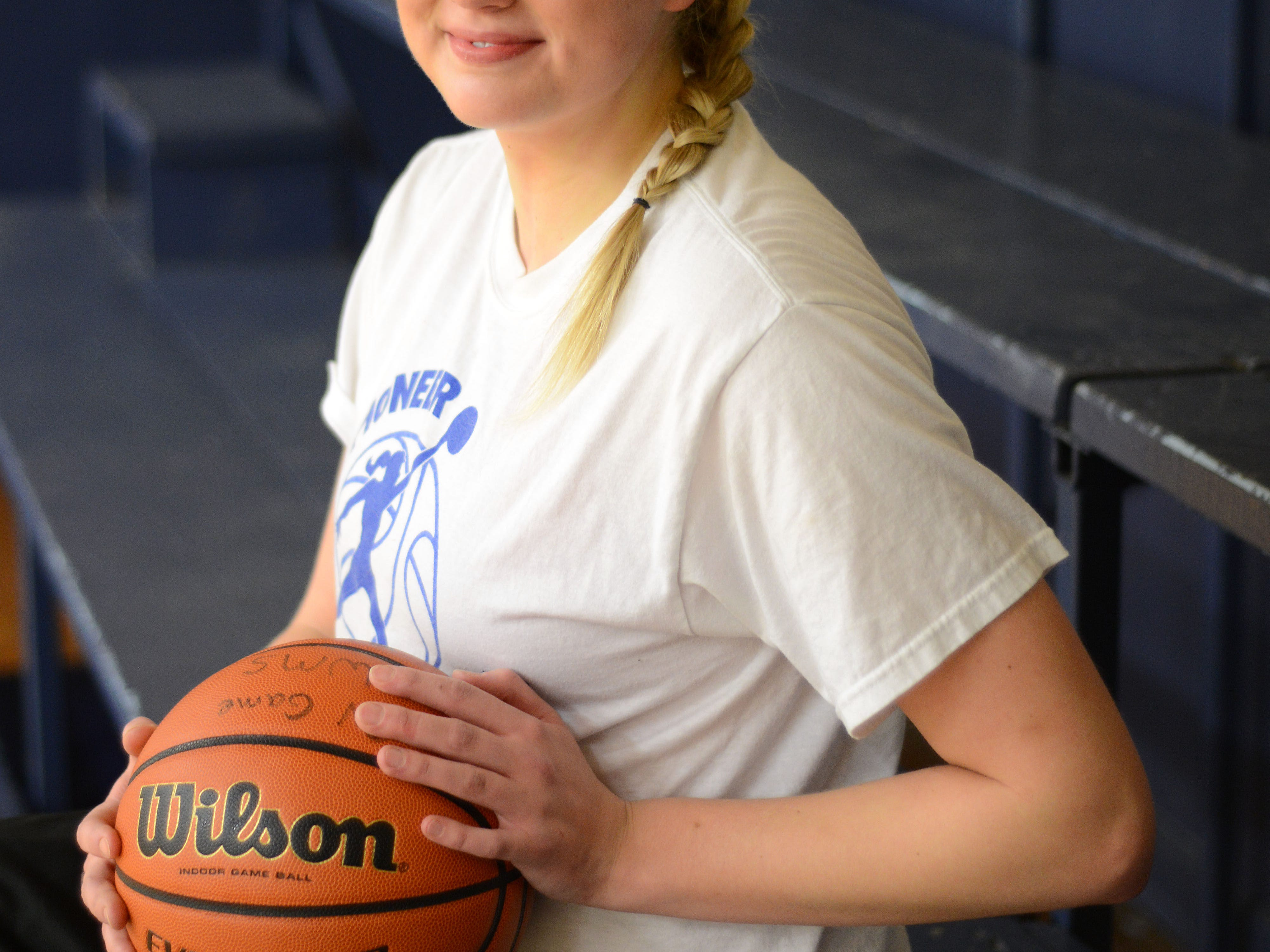 Emma Gibb, a junior at Western Mennonite, is one of the top basketball players in the state, regardless of classification.