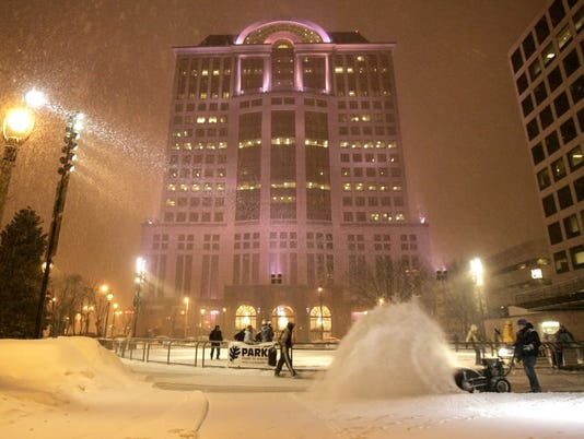 Red Arrow Park snow