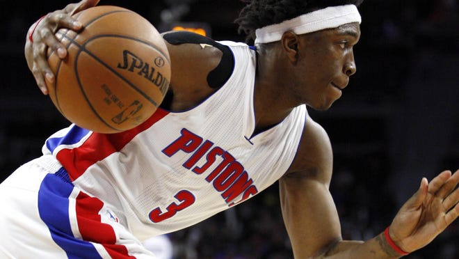 "Rookie Stanley Johnson is confident: ""If we get in the playoffs, I don't think we'll be an easy out."""