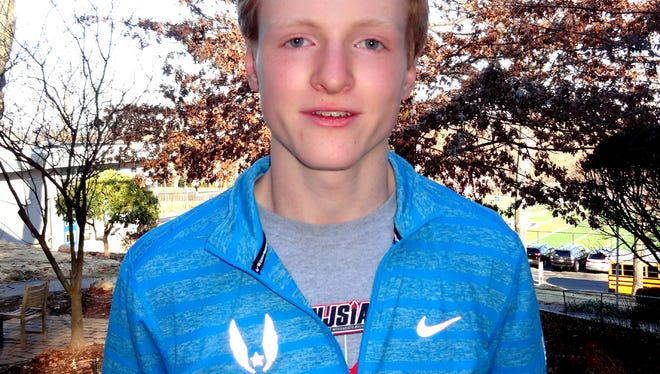 Montclair Kimberley's Billy Massey won his second Essex County 1,600-meter title May 19.
