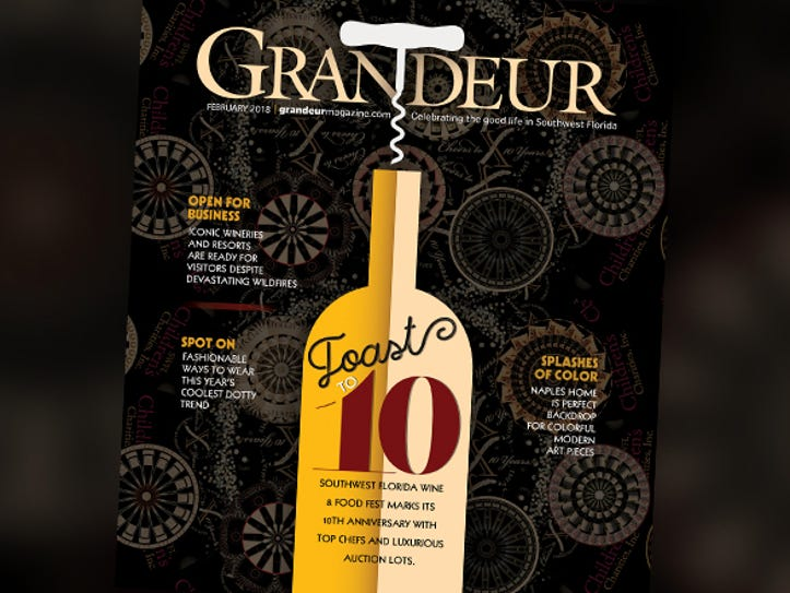 The February issue of Grandeur will be available starting