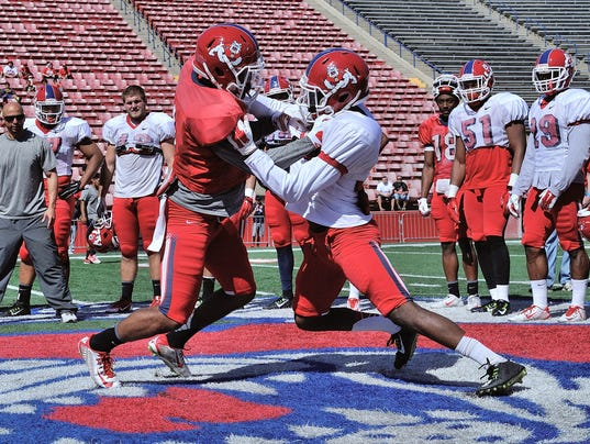 XXX NCAA FOOTBALL- MAR 28 FRESNO STATE SPRING GAME DEC 3563.JPG S FBC USA CA