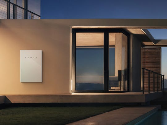 Tesla's Powerwall battery to store excess energy to