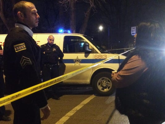 APTOPIX Chicago Police Fatal Shooting (2)