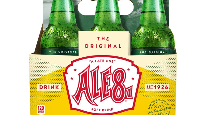 Ale-8-One's new packaging.