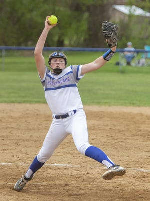 Lake's pitcher Jessica LeBeau is one of several Division I athletes scheduled to compete in a senior all star game on Monday at Willig Field.