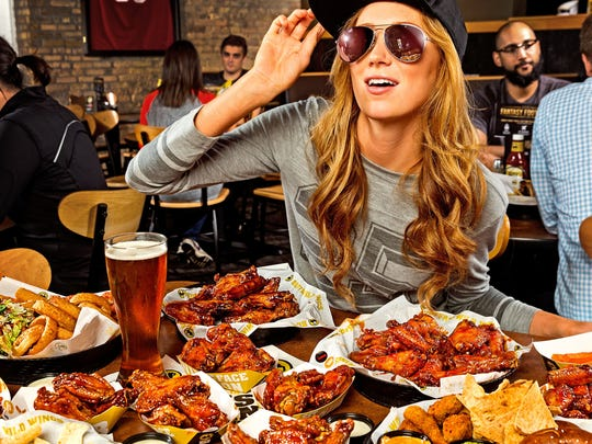 Photographer Robb Long of Brandon took this photo as part of a national campaign for Buffalo Wild Wings.