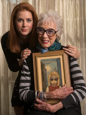 Amy Adams learned much about artist Margaret Keane by simply observing.