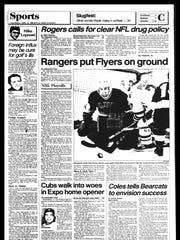 BC Sports History: Week of April 14, 1986