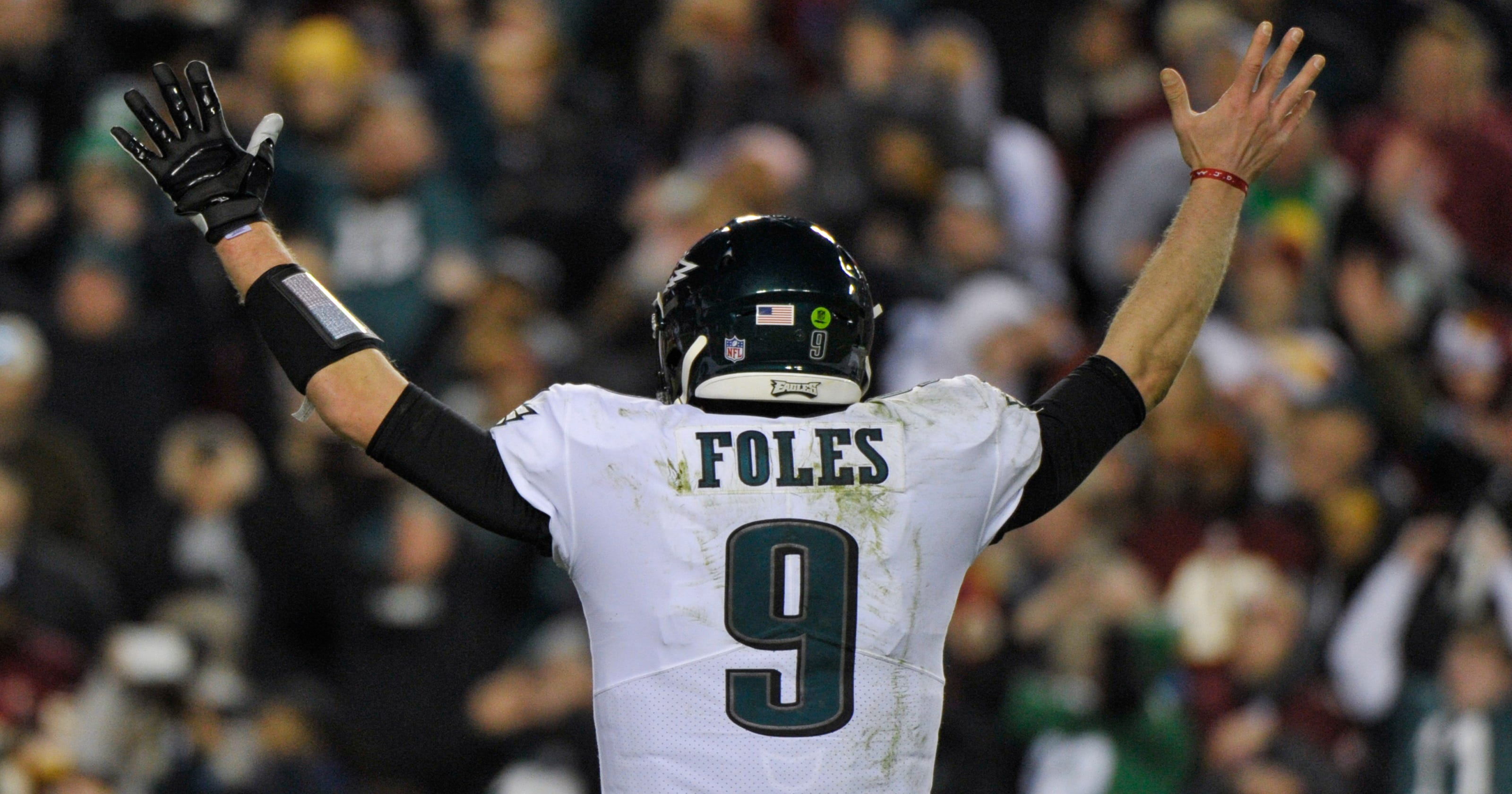 hot sale online f1b19 19b35 Nick Foles thanks Philadelphia as he leaves city, Eagles ...