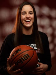 Caitlin Clark of Dowling Catholic has been named to