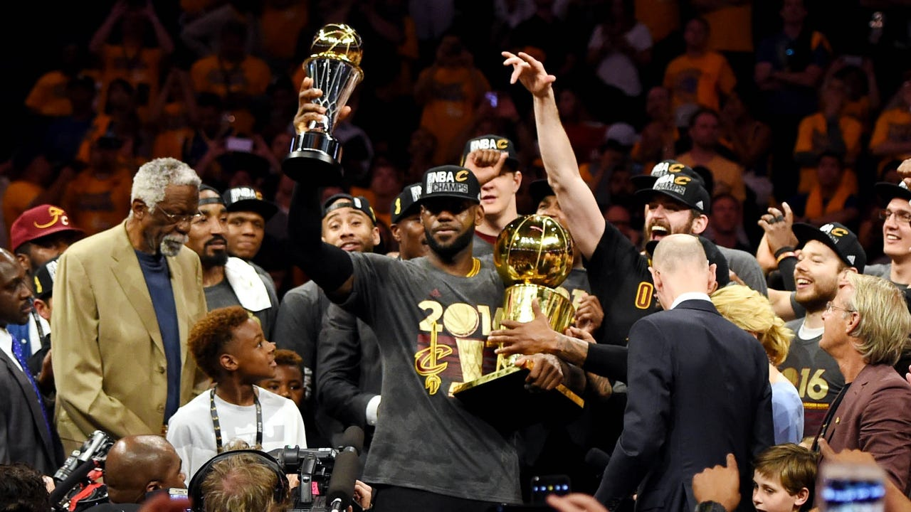 Cavaliers finish historic comeback to win NBA championship