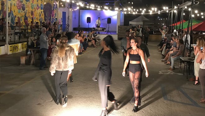 DWF hosts their own fashion show 'Sheer Opulence' here in Tallahassee.