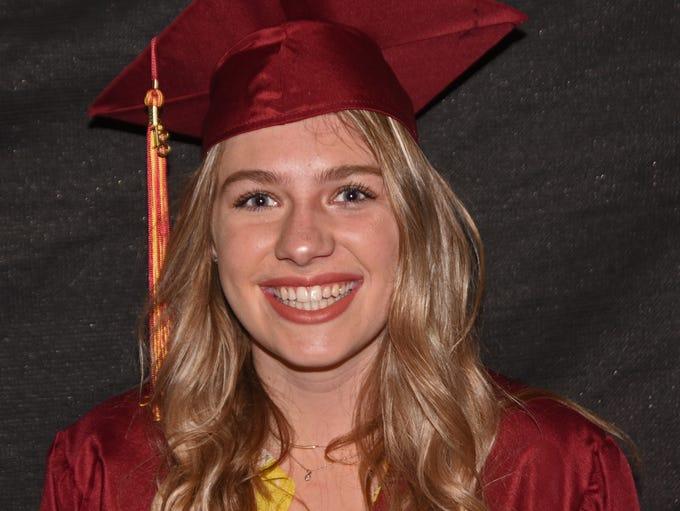 Windsor High School graduate Kathryn Davis is pictured