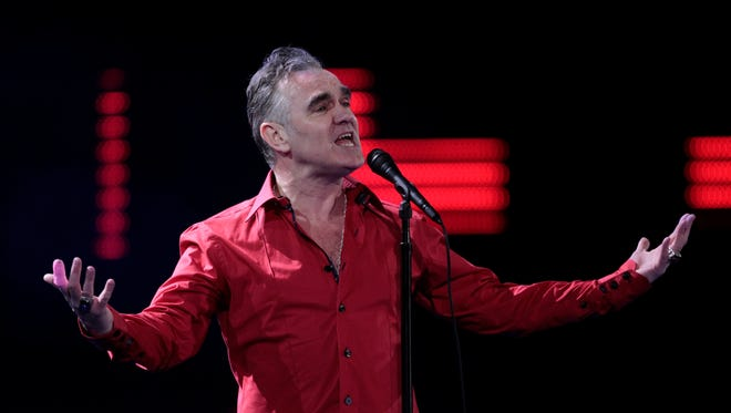 British rock curmudgeon Morrissey, here in 2012, called Prince William rude name for going hunting.