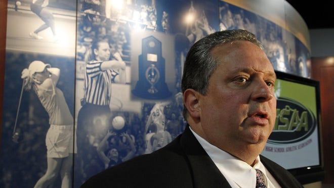 KHSAA commissioner Julian Tackett