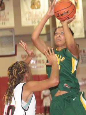 Rayville forward Micaela Wilson, a Kansas signee, scored 23 points in the quarterfinals against Red River.