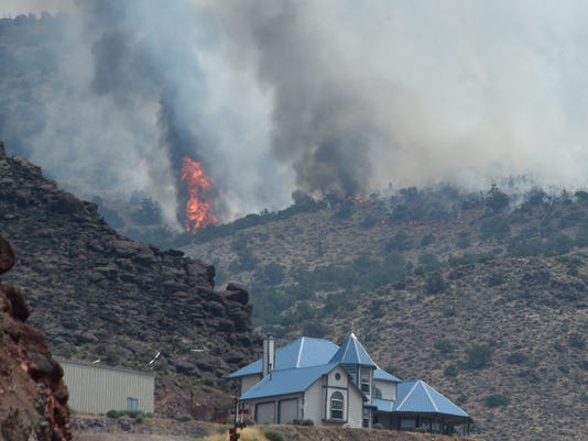 Perry Fire north of Reno