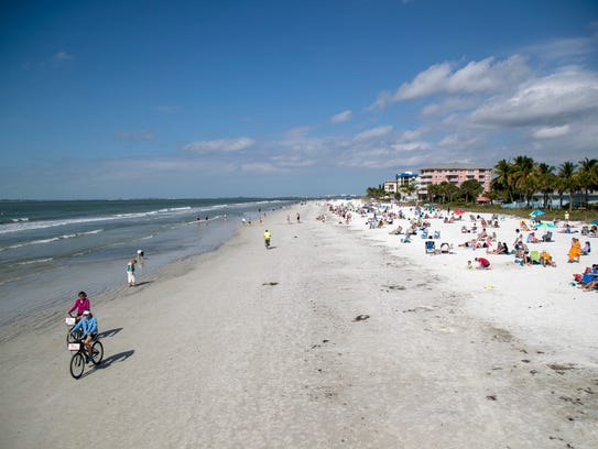 Fort Myers Beach is one of the area's most popular destinations for families.