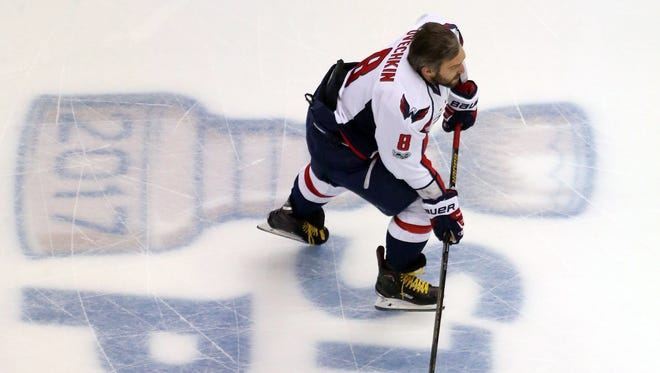 Alex Ovechkin has made the playoffs eight time in his career and never made it beyond the second round.