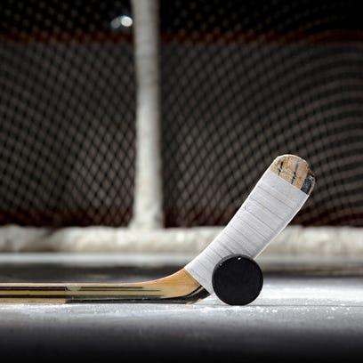 High school boys hockey.