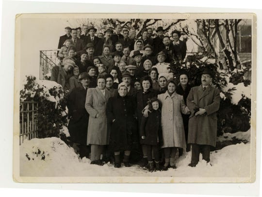 Kasztner survivors in Switzerland.