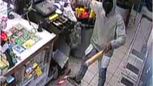 Austin police on Thursday said they are looking for the man shown here at a Valero gas station in Southeast Austin in June.
