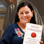 Diana Gabaldon at her Paradise Valley home on May 14, 2014.
