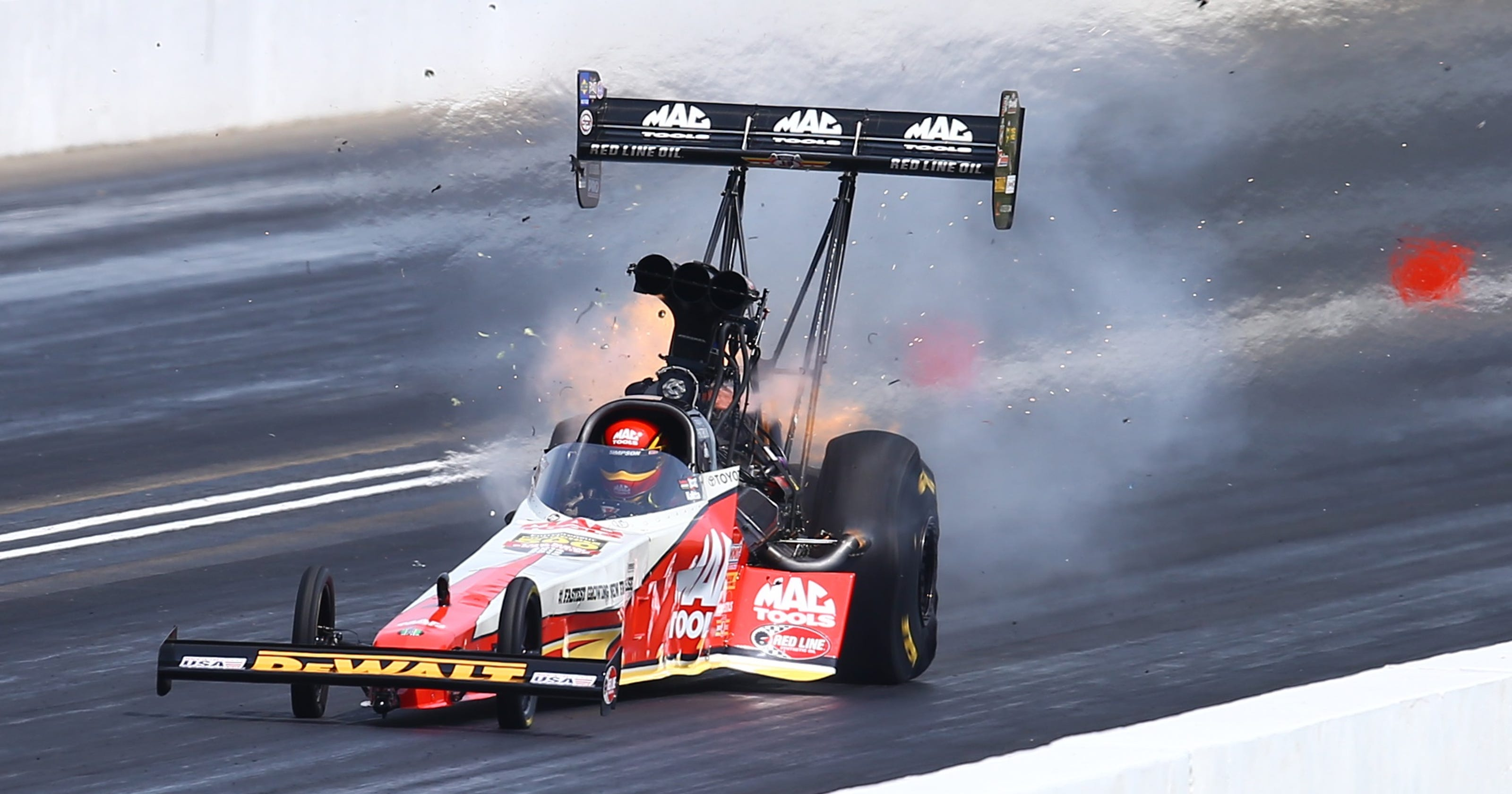 Doug Kalitta races to third straight NHRA Top Fuel victory