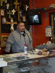 Kenny Chavez, owner of City of the Crosses Catholic