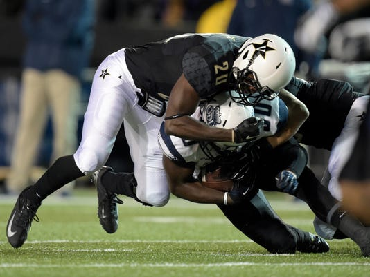 NCAA Football: Old Dominion at Vanderbilt