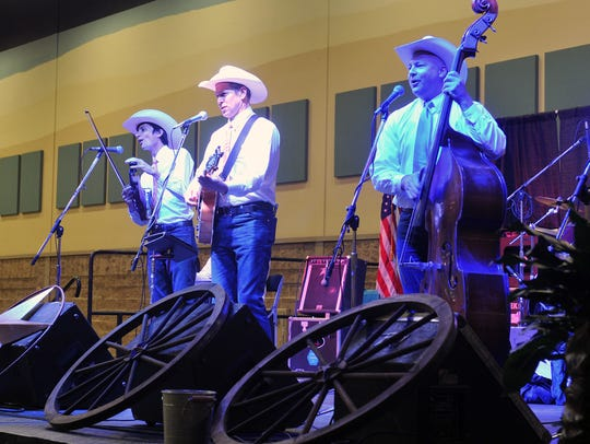 John England and The Western Swingers perform Thursday