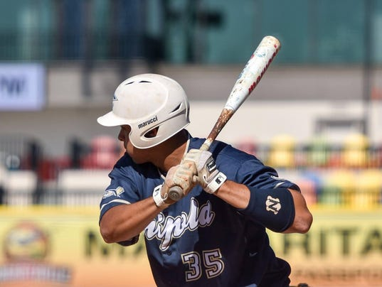 Reynaldo Rivera Hitting