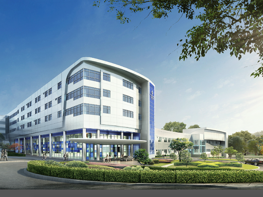 Slated for 2019: The M.T. Mustian Center, which is named for the hospital's first CEO, will be located at the southeast corner of the Tallahassee Memorial Healthcare campus, directly connected to the existing Tallahassee Memorial Hospital.